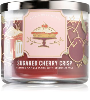 Bath & Body Works Sugared Cherry Crisp vonná svíčka I.