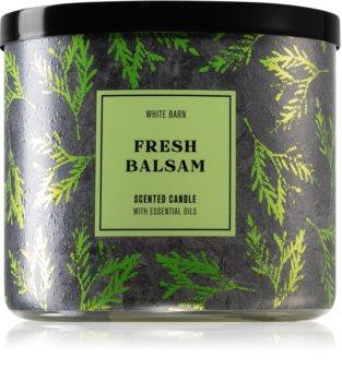 Bath & Body Works Fresh Balsam ароматическая свеча I.