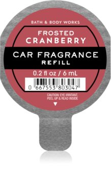 Bath & Body Works Frosted Cranberry car air freshener Refill