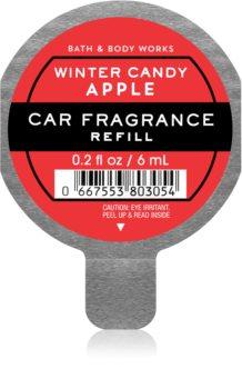 Bath & Body Works Winter Candy Apple illat autóba utántöltő