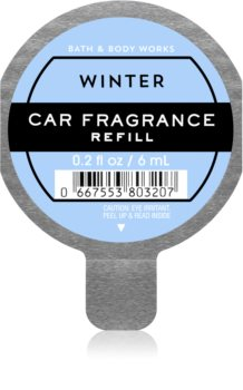 Bath & Body Works Winter deodorante per auto ricarica