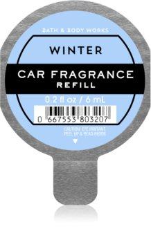 Bath & Body Works Winter ароматизатор для салона автомобиля сменный блок