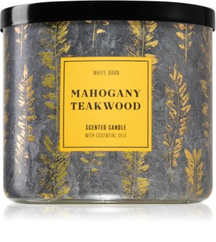Bath & Body Works Mahogany Teakwood Duftkerze II.