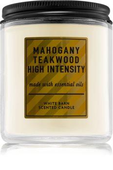 Bath & Body Works Mahogany Teakwood  High Intensity ароматна свещ  V.