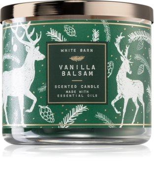 Bath & Body Works Vanilla Balsam lumânare parfumată  I.