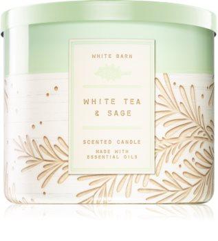 Bath & Body Works White Tea & Sage mirisna svijeća