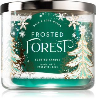 Bath & Body Works Frosted Forest scented candle