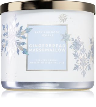 Bath & Body Works Gingerbread Marshmallow aроматична свічка