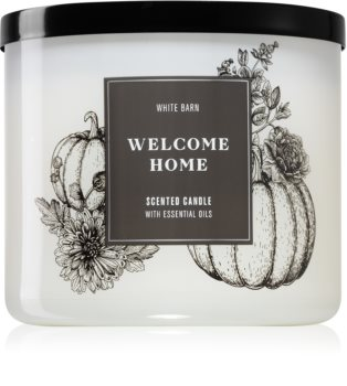 Bath & Body Works Welcome Home ароматна свещ  III.