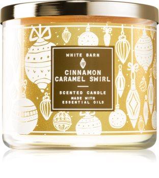 Bath & Body Works Cinnamon Caramel Swirl candela profumata