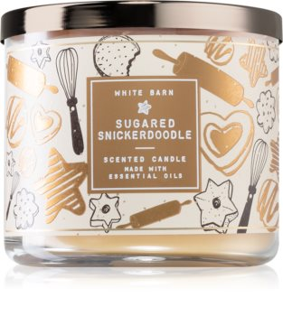 Bath & Body Works Sugared Snickerdoodle scented candle I.