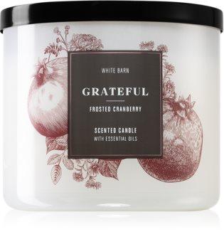 Bath & Body Works Grateful lumânare parfumată  I.