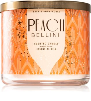 Bath & Body Works Peach Bellini mirisna svijeća V.