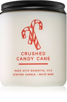 Bath & Body Works Crushed Candy Cane bougie parfumée