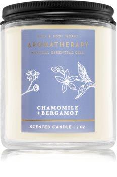 Bath & Body Works Aromatherapy Chamomile & Bergamot candela profumata