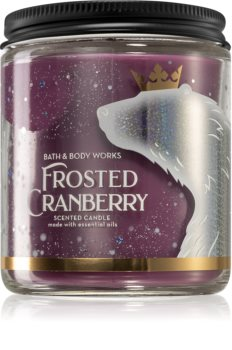 Bath & Body Works Frosted Cranberry scented candle