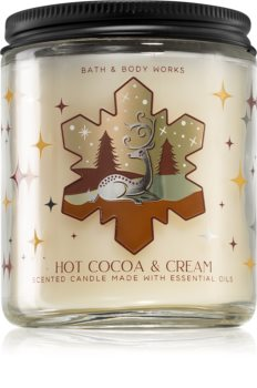 Bath & Body Works Hot Cocoa & Cream mirisna svijeća I.