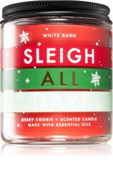 Bath & Body Works Sleigh All Day! doftljus I.