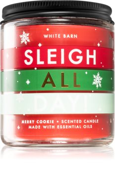 Bath & Body Works Sleigh All Day! vonná svíčka I.