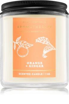 Bath & Body Works Orange and Ginger illatos gyertya