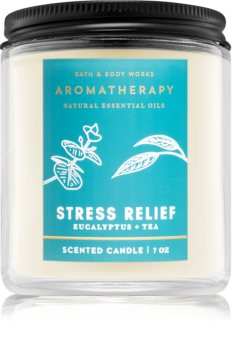Bath & Body Works Stress Relief Eucalyptus Tea lumânare parfumată