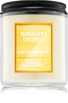 Bath & Body Works Mahogany Coconut illatos gyertya