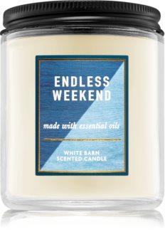 Bath & Body Works Endless Weekend candela profumata