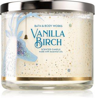Bath & Body Works Vanilla Birch candela profumata III