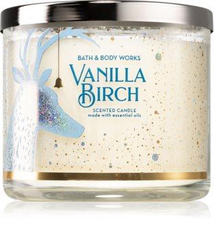 Bath & Body Works Vanilla Birch ароматна свещ  III.
