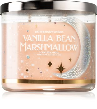 Bath & Body Works Vanilla Bean Marshmallow ароматическая свеча