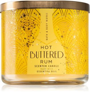 Bath & Body Works Hot Buttered Rum ароматна свещ