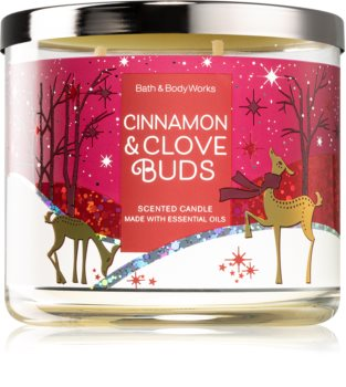 Bath & Body Works Cinnamon & Clove Buds scented candle II.