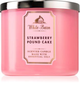 Bath & Body Works Strawberry Pound Cake aроматична свічка ІІ