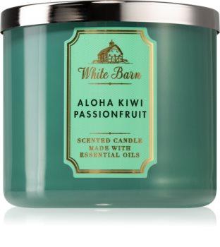 Bath & Body Works Aloha Kiwi Passionfruit lumânare parfumată  I.