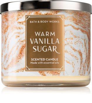 Bath & Body Works Warm Vanilla Sugar scented candle