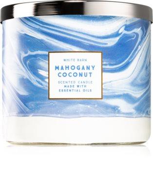 Bath & Body Works Mahogany Coconut ароматна свещ  I.