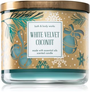 Bath & Body Works White Velvet Coconut Tuoksukynttilä