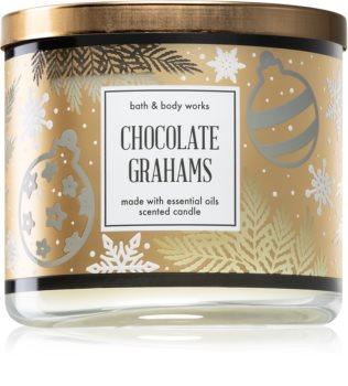 Bath & Body Works Chocolate Grahams ароматна свещ