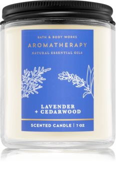 Bath & Body Works Lavender and Cedarwood scented candle