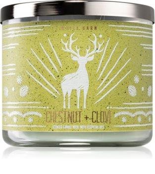 Bath & Body Works Chestnut & Clove illatos gyertya