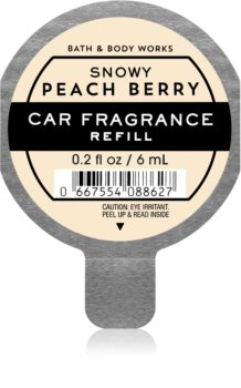 Bath & Body Works Snowy Peach Berry aроматизатор за автомобил пълнител