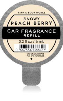 Bath & Body Works Snowy Peach Berry luftfrisker til bil Genopfyldning