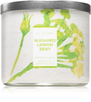Bath & Body Works Sugared Lemon Zest scented candle