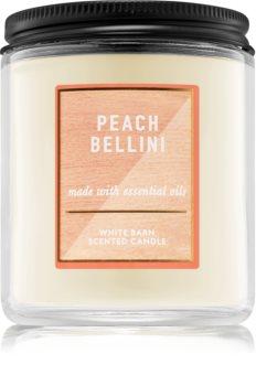 Bath & Body Works Peach Bellini ароматна свещ