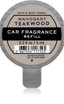 Bath & Body Works Mahogany Teakwood parfum pentru masina rezervă