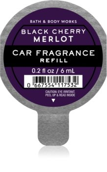 Bath & Body Works Black Cherry Merlot aроматизатор за автомобил пълнител I.