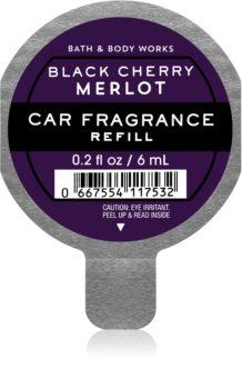 Bath & Body Works Black Cherry Merlot Auton ilmanraikastin Täyttöpakkaus I.