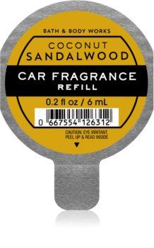 Bath & Body Works Coconut Sandalwood Auton ilmanraikastin Täyttöpakkaus