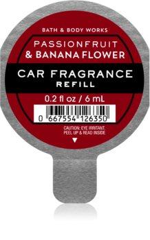 Bath & Body Works Passionfruit and Banana Flower dišava za avto nadomestno polnilo