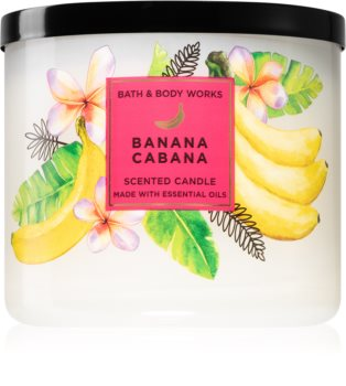 Bath & Body Works Banana Cabana scented candle